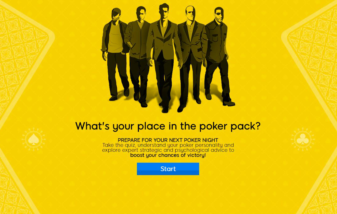 Whats your place in the poker pack