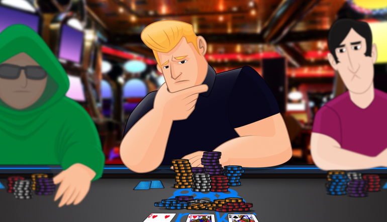 Facing a cbet on the flop