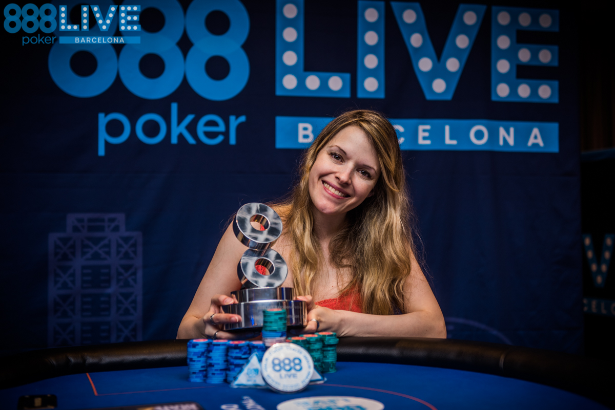 Maria Lampropulos Wins 888pokerLiveBCN High Roller Title