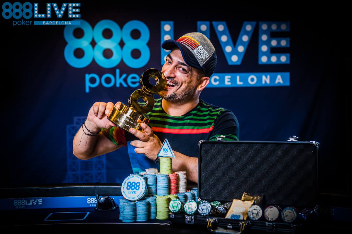 Adrian Costin Constantin Wins 2018 888pokerLiveBCN Main Event