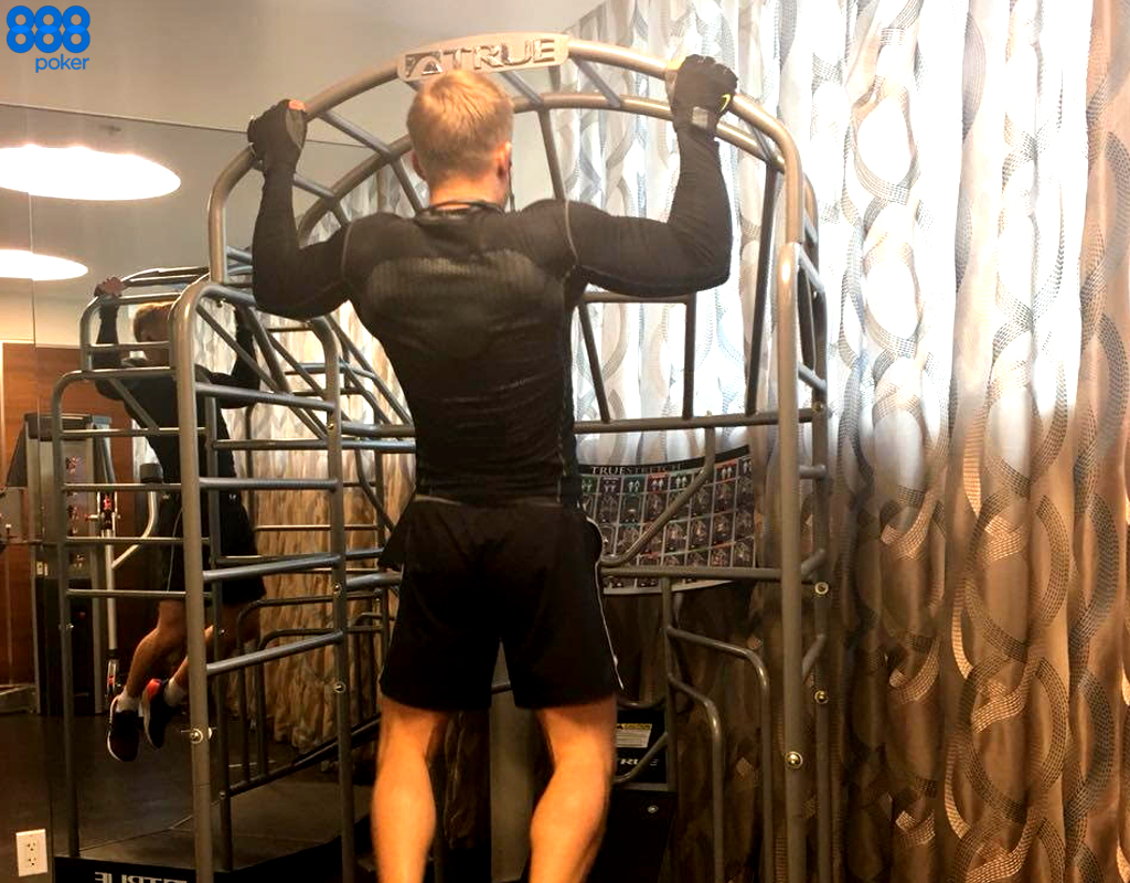 Team888's Martin Jacobson Hits the Gym