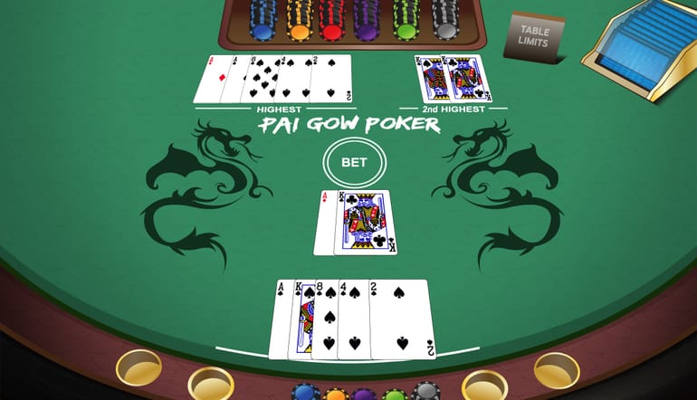 Pai gow poker how to play online, strategy and rules