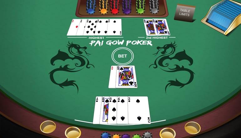 betting strategy pai gow poker