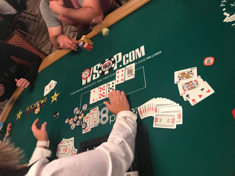 WSOP $10K PLO Final Hand - Vivian Saliba
