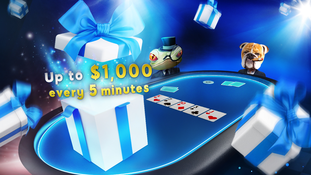 It's Raining Down Gifts at 888poker!
