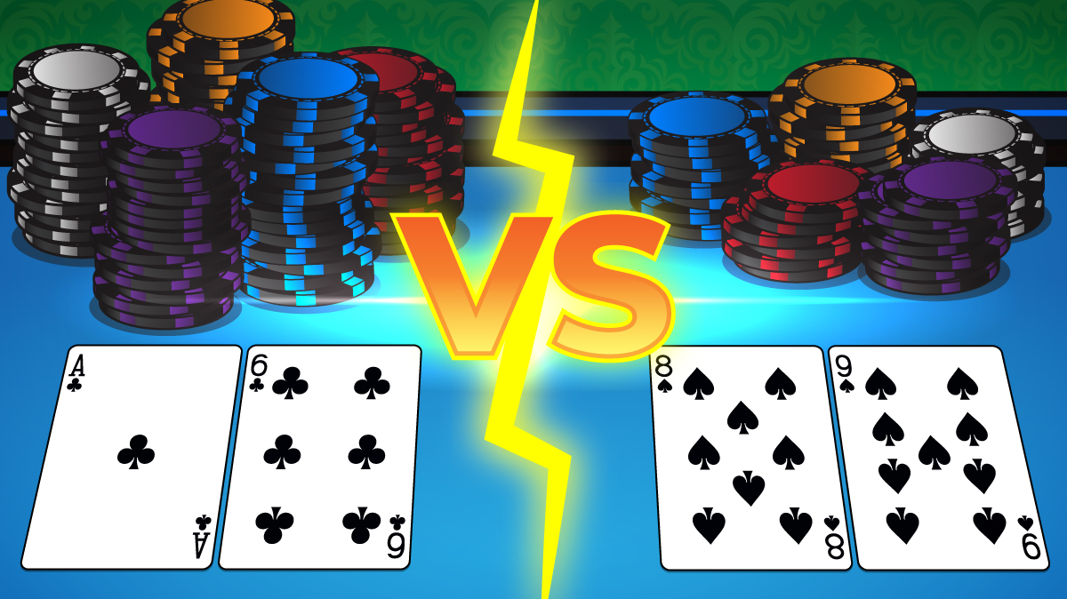 BIG CHIP STACK VS SMALL CHIP STACK