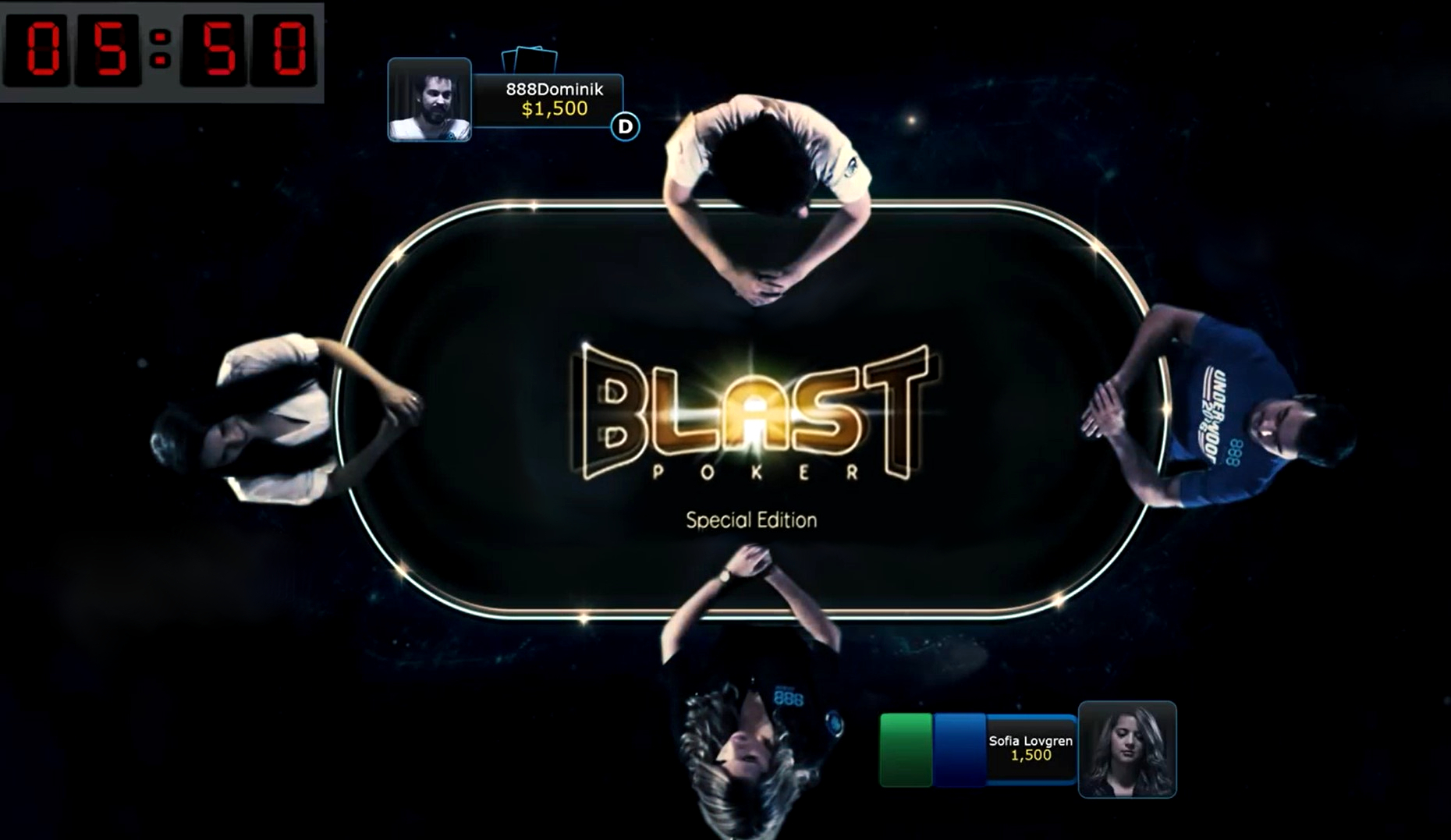 Team888's Dominik Nitsche loves BLAST Sit & Go Games