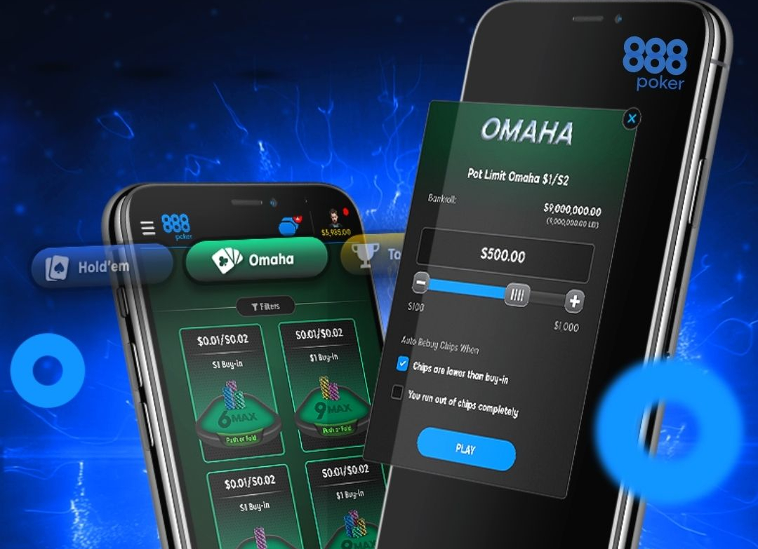 Omaha Now Available on 888poker App
