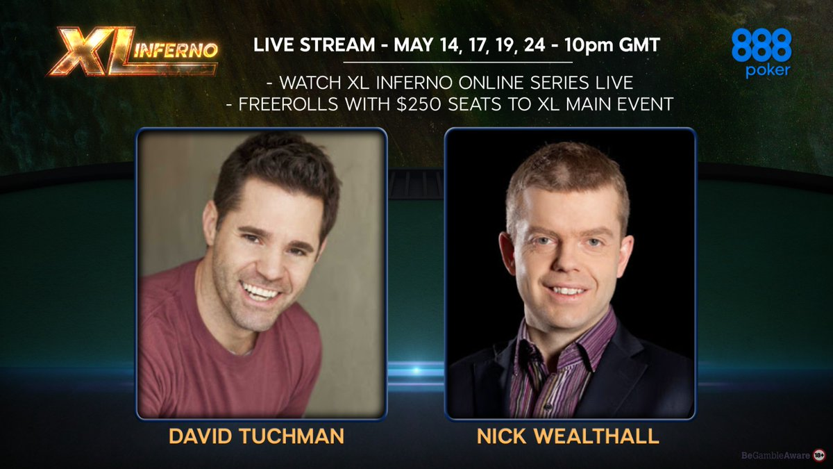 David Tuchman and Nick Wealthall offering commentary and entertainment