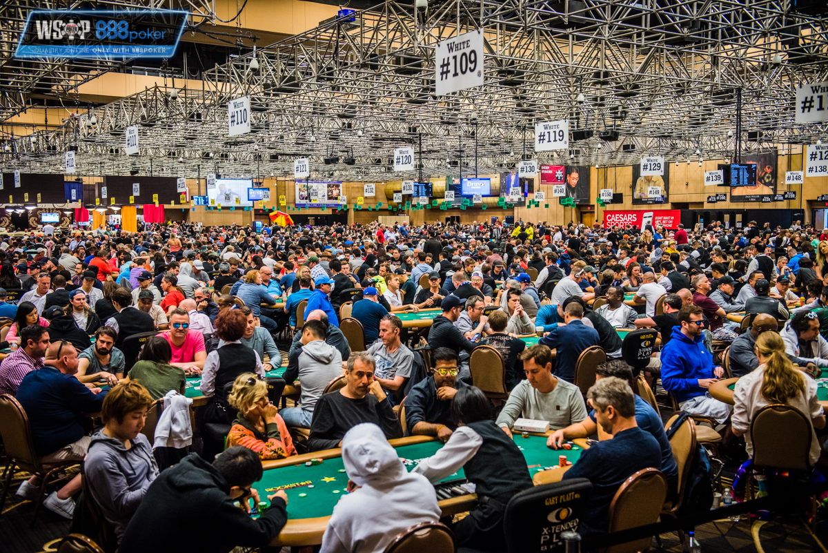 A look back at 2018 WSOP numbers