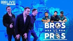 888pokerLIVE Heads to London with Bros vs Pros