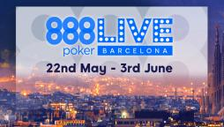 888poker LIVE Next Stop: Barcelona. Spain!