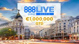 Last Call as 888poker LIVE Heads to Madrid for First 2020 Festival Stop!