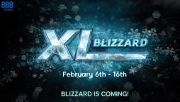 XL Blizzard Storms 888poker with Nearly $1,500,000 Up for Grabs!