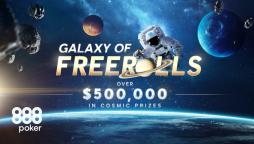 Galaxy of Freerolls Lifts Off with $500K in Cosmic Prizes Up for Grabs!