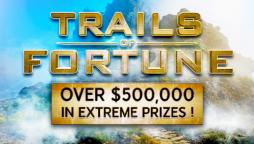 Follow the Trails of Fortune to Win Mega Cash and Prizes!