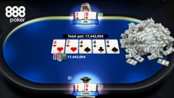 Big Success for 888poker Players in WonderWorld and Freezeout Series