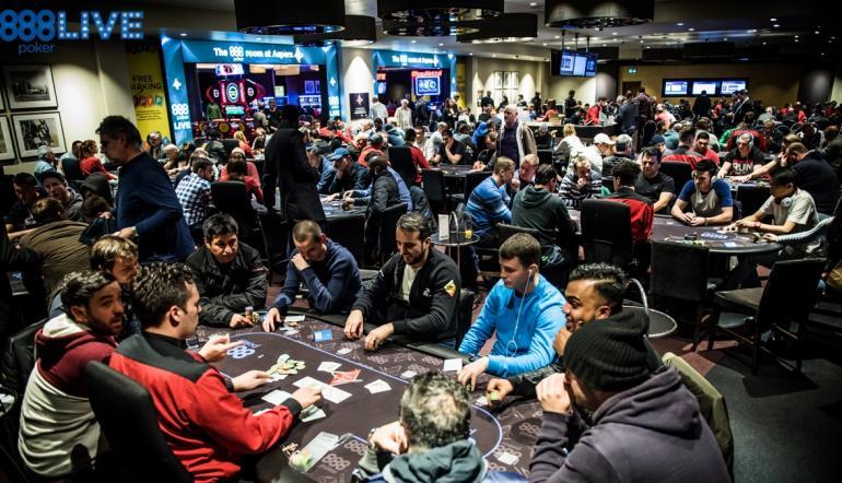 888live Returns To Aspers Casino London