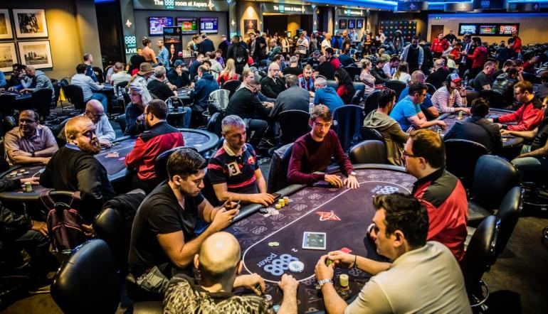 888Live Festival Opening Event at Aspers London