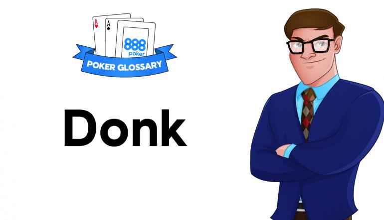 Poker terminology donk betting soccernet betting