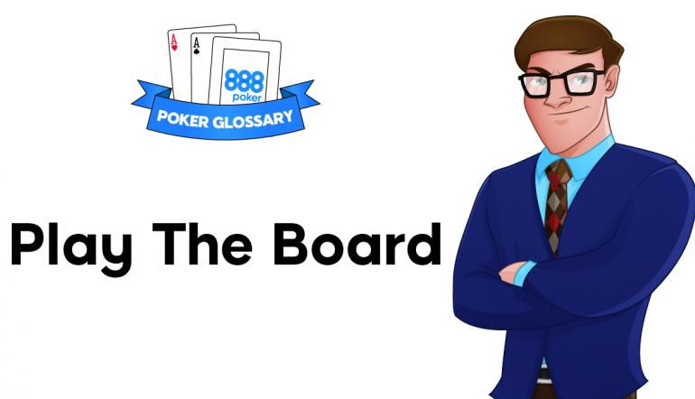 Play the Board Poker