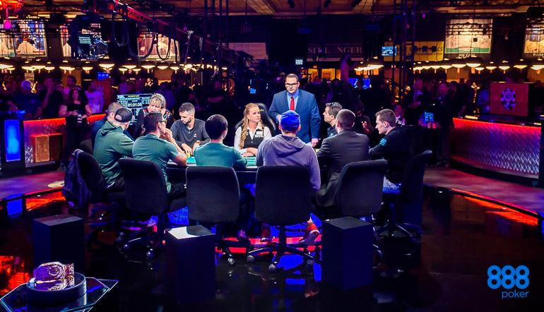 2019 WSOP Main Event Final Table – Day 8 Action