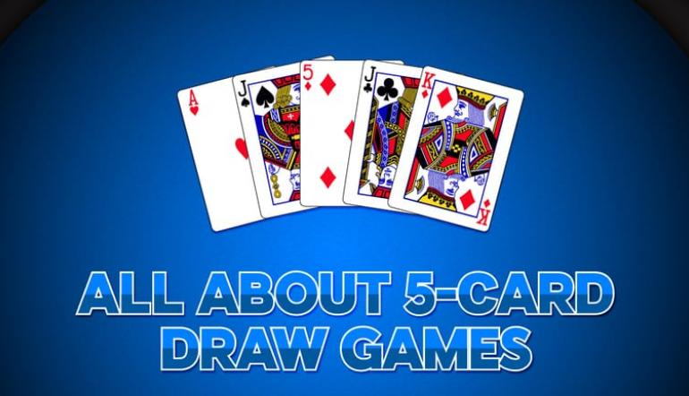 5 card draw betting rules for holdem