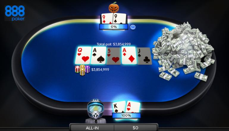 888poker to Give Away more than $25 Million this May