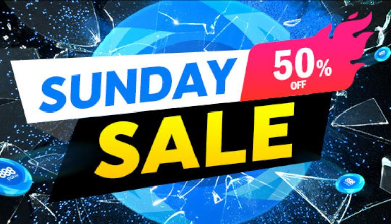 888poker Sunday Sale Is Back with Up to 50% Off Buy-ins!