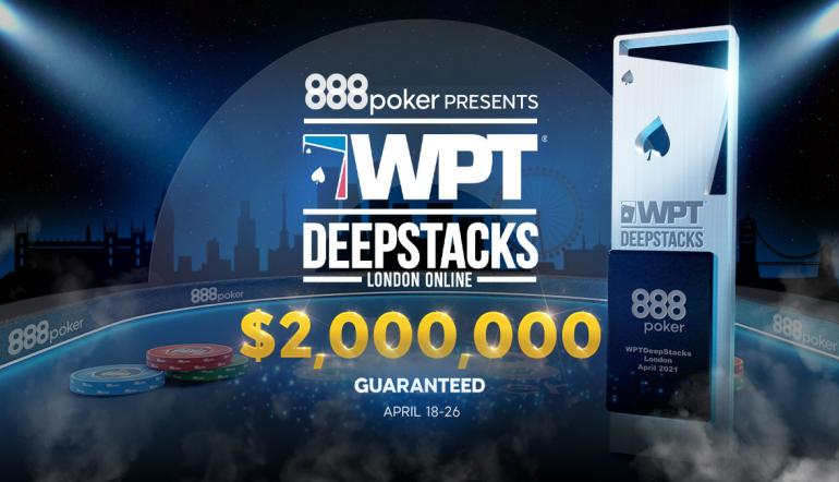 888poker Partners with WPT Deepstacks for $2M GTD Online Poker Series!
