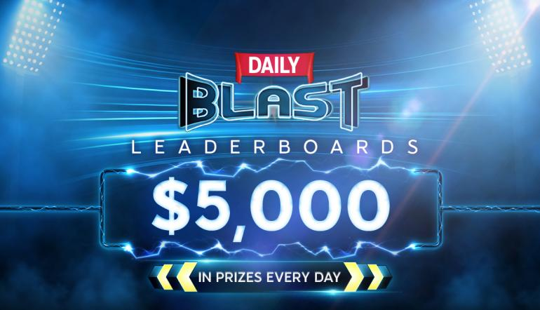 Race to the Top on 888poker's New BLAST Leaderboards!