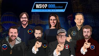 2018 WSOP Main Event 888poker 8-Teams