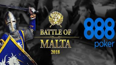 888poker Sponsors 2018 Battle of Malta