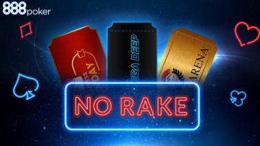 RakeLESS Sunday Returns to 888poker Tournament Tables!