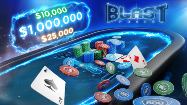 Three 888poker Players Hit the BLAST Million Dollar Jackpot!