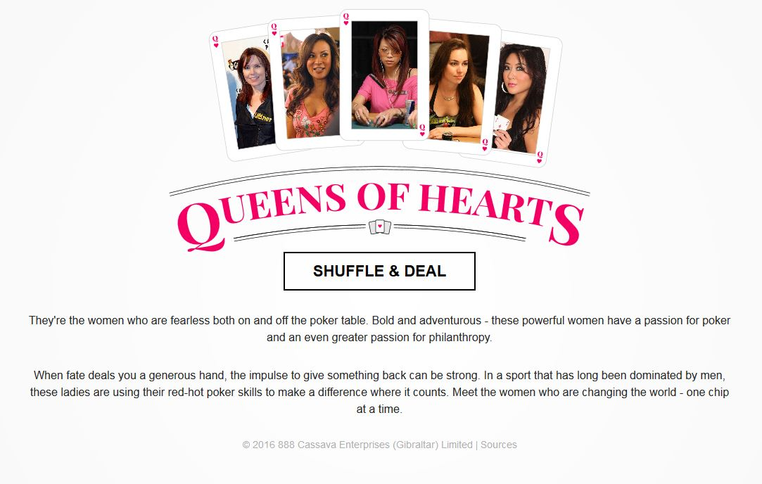 The Queens of Hearts