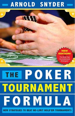 Poker Tournament Formula